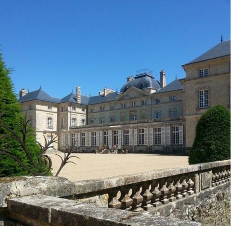 château de Sourches, Conservatoire de la Pivoine