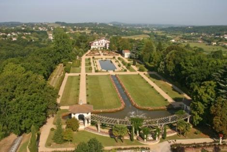 Cote Basque : Jardin Arnaga - Arnaga Garden
