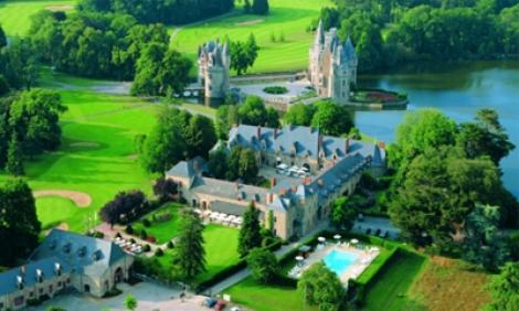 Bretagne, Domaine de la Bretesche : Le temps d'un golf