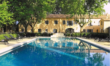Baux de Provence, Domaine de Manville : Golfer dans les Alpilles