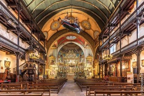 Tribune église basque