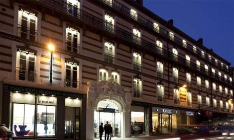 Le grand h tel de grenoble for Hotel design grenoble